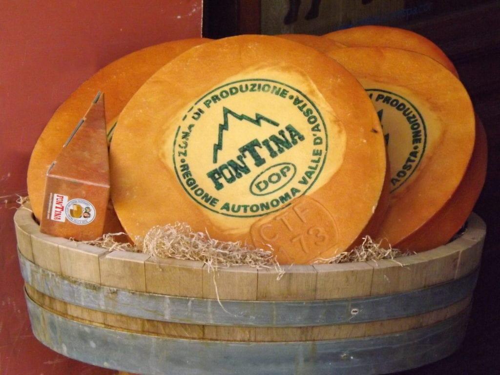 fontina formaggio