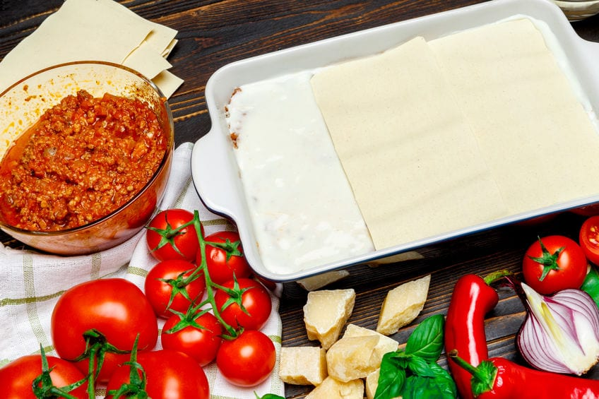 lasagna impasto