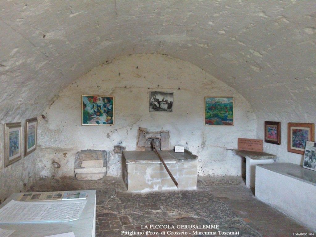 Il forno delle Azzime a Pitigliano. Foto da La Piccola Gerusalemme (pagina Facebook)