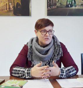 Barbara Pagnoncelli, assessore all'Agricoltura e presidente del consorzio Salame di Fabriano