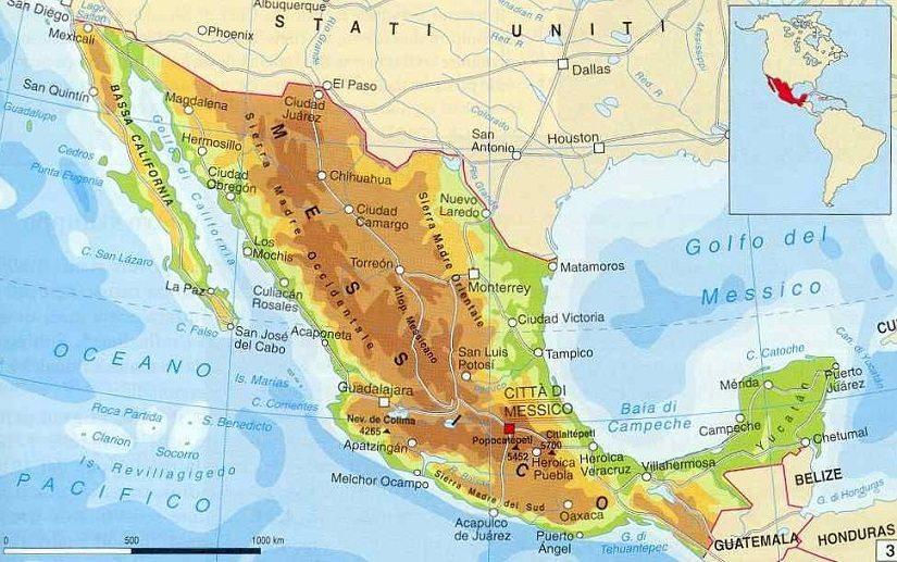 Cartina Stradale Messico.Vittoria Dei Formaggi Asiago E Gorgonzola In Messico Informacibo