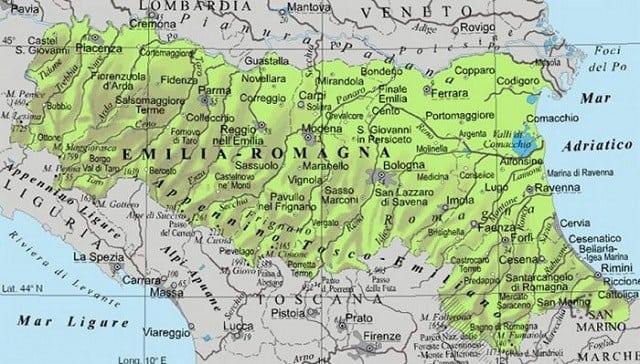 Cartina Politica Dellemilia Romagna.Prometeia Nel 2018 L Emilia Romagna Sale Ancora Sul Podio Informacibo