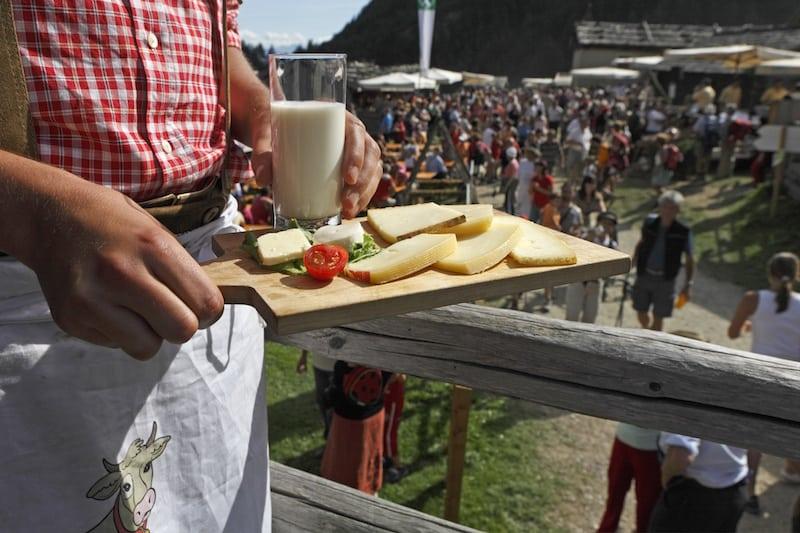 La Festa del latte in Alto Adige (foto di Frieder Blickle)