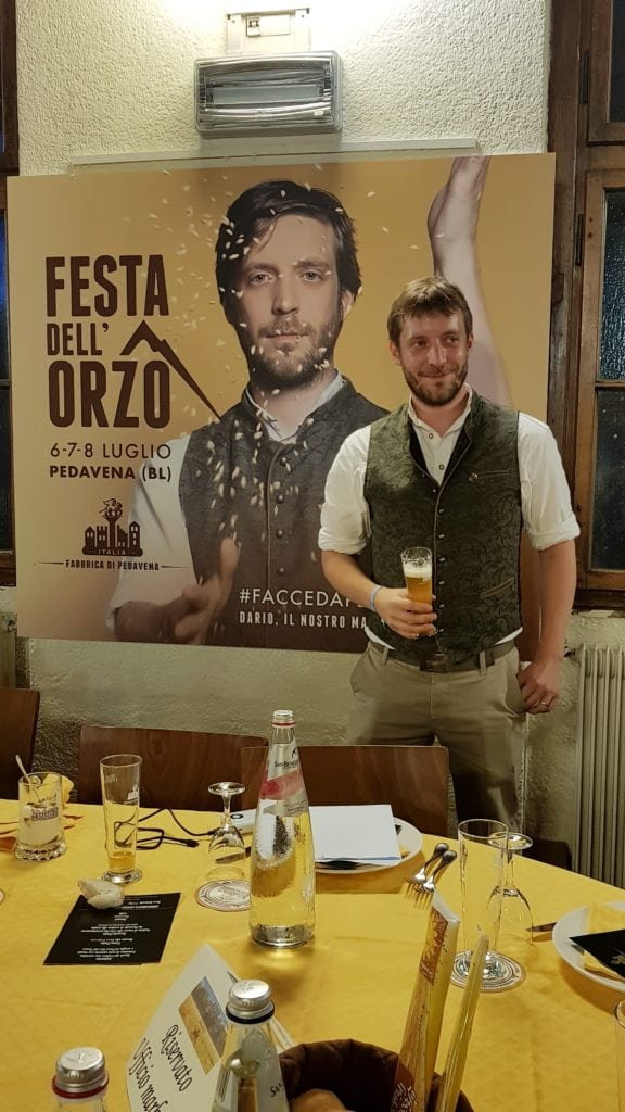 Il nuovo mastro birraio Dario Martinuzzo