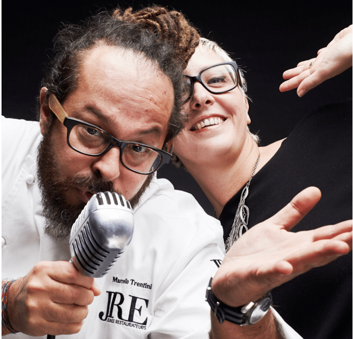 marcello e Simona trentini
