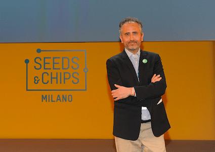 Marco Gualtieri, il fondatore di Seeds & Chips