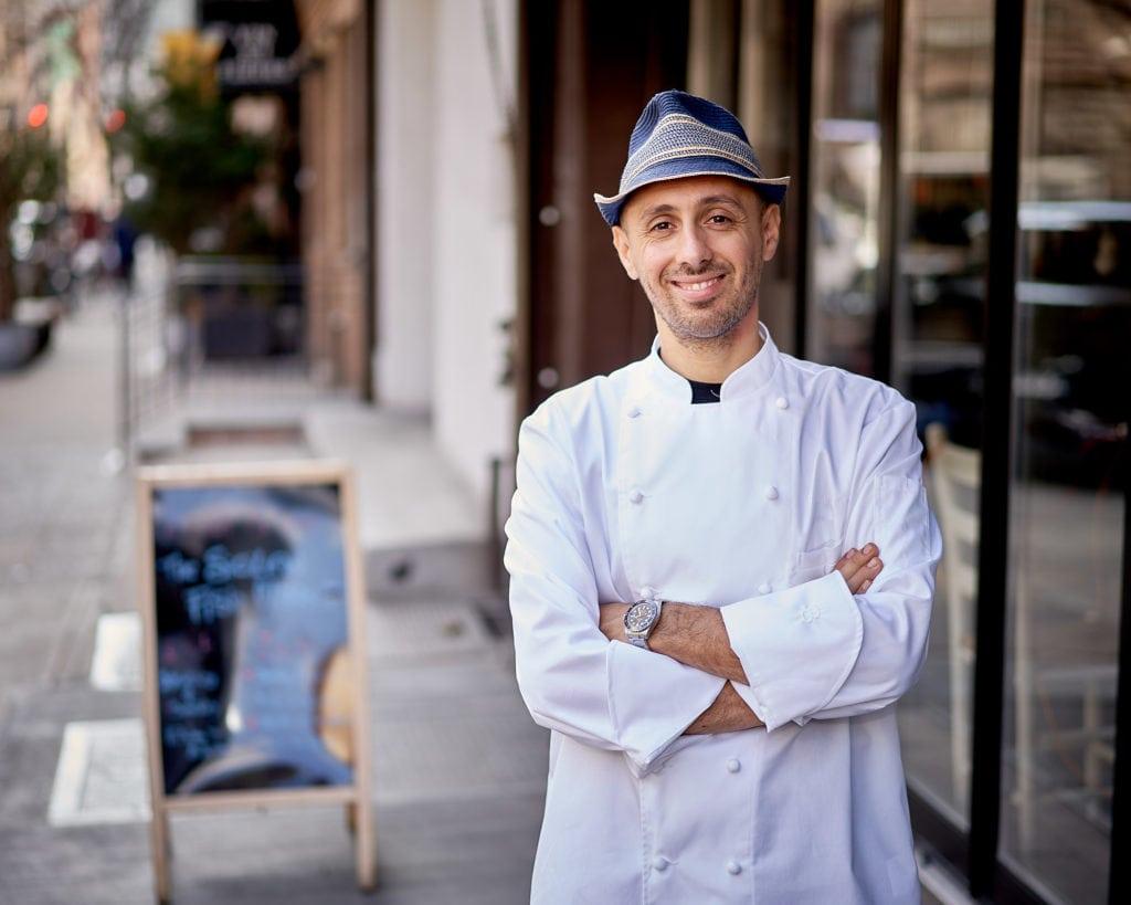 Philip Guardione, Executive Chef della catena di ristoranti siciliani Piccola Cucina a New York.