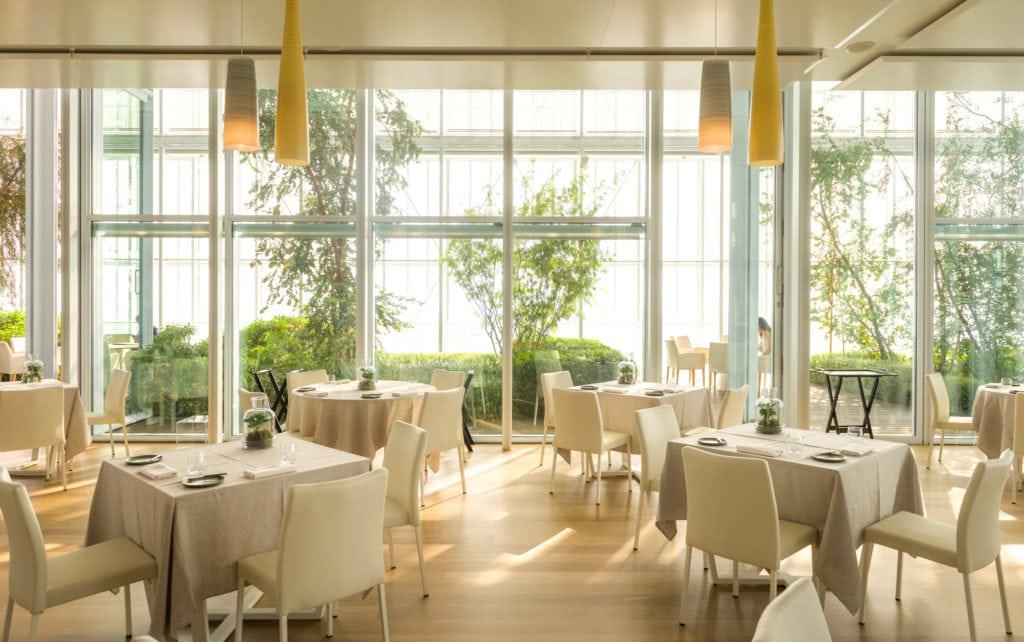 Marco Sacco Piano 35 - il ristorante