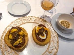 pergola truffle burger