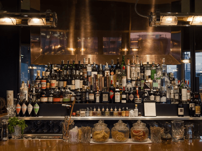 cocktail station peck