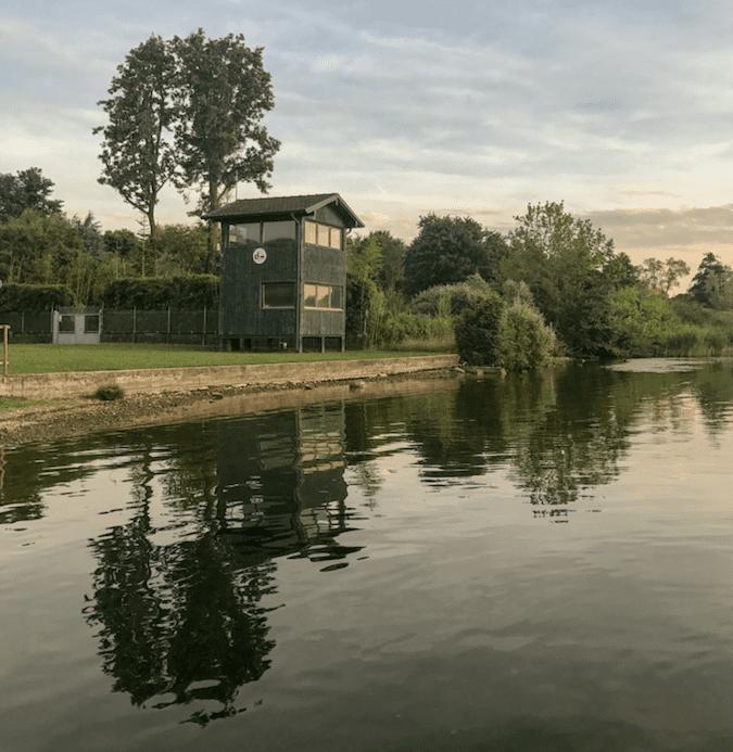 Il piccolo lago di Corgeno