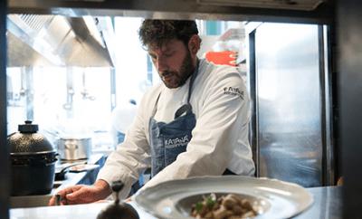 Lo chef Cesare Battisti