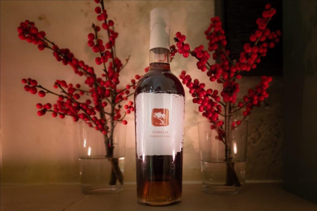 egnazia vermouth rosso bottiglia