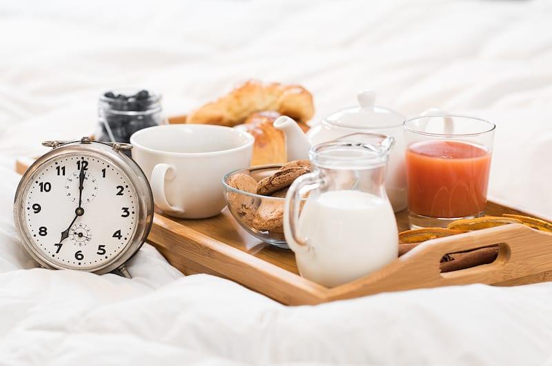 colazione a letto