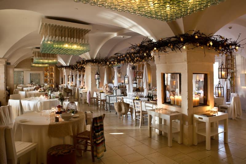 il ristorante Due Camini a Borgo Egnazia