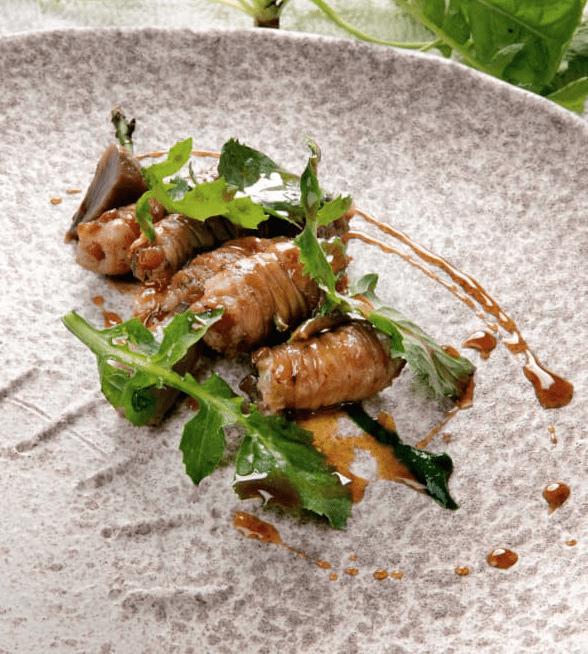 Un piatto di gnumareddi alla maniera di Domingo Schingaro ( foto Davide Dutto)