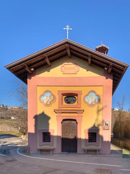 La chiesetta di San Giuseppe a Ostizza
