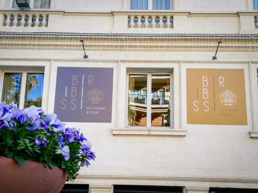 il ristorante biribissi di Sanremo
