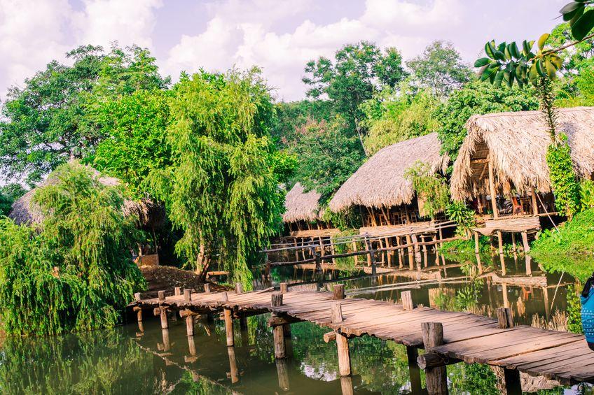 I casoni della laguna Veneta sono le antiche case dei pescatori di un tempo