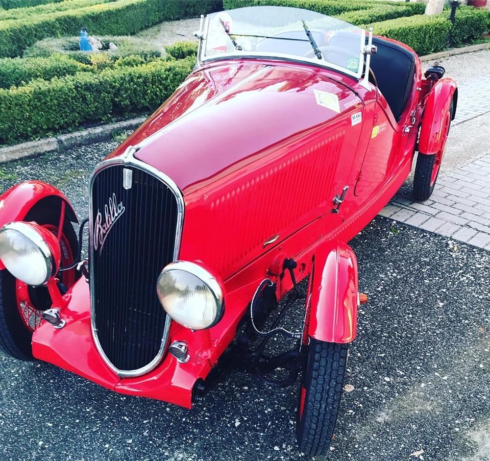 Il team 109 parteciperà alla MilleMiglia con questa splendida auto d'epoca. In bocca al lupo!