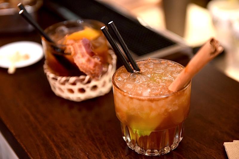 foto cocktail carne