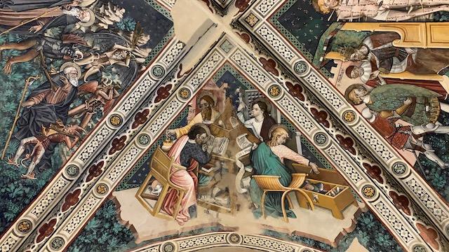 Nella chiesa di San Sebastiano, a Pecetto Torinese