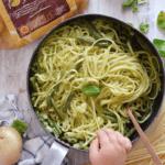 pasta con pesto e patate ricetta