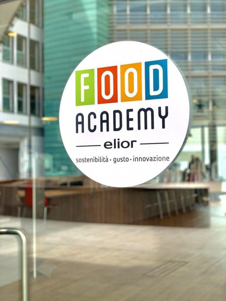 L'ingresso della Food Academy Elior