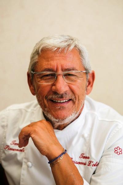 Lo chef Tano Simonato, 64 anni, 1 Stella Michelin