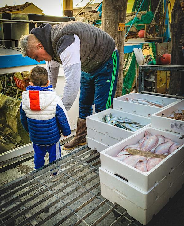 pesce caorle