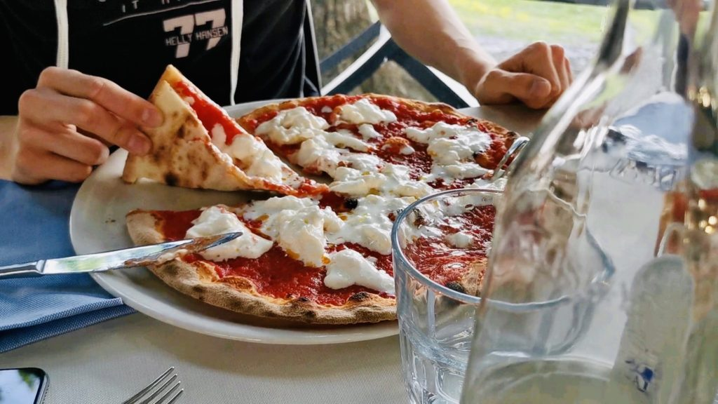 pizza miralago