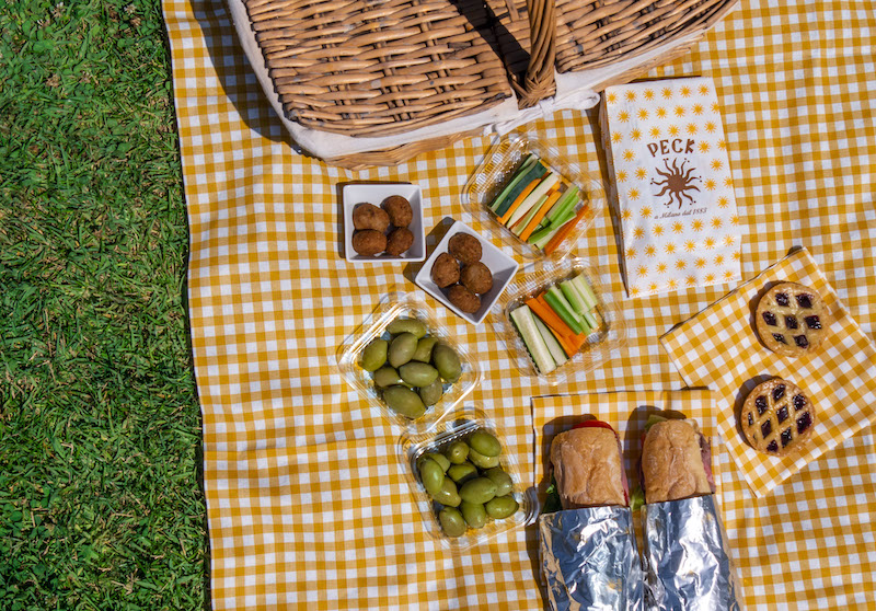 picnic milano peck