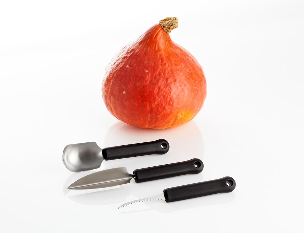 kit per intagliare la zucca