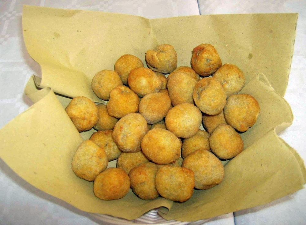 Menu di Natale - olive all'ascolana