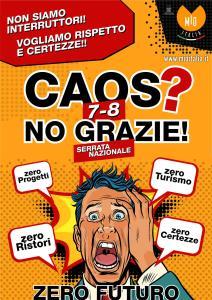 protesta ristoranti mio italia