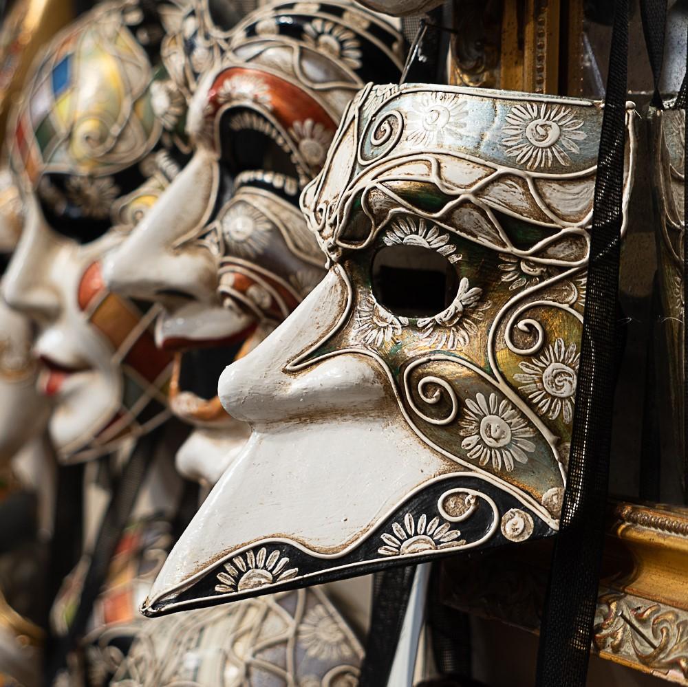 bauta maschera carnevale di venezia