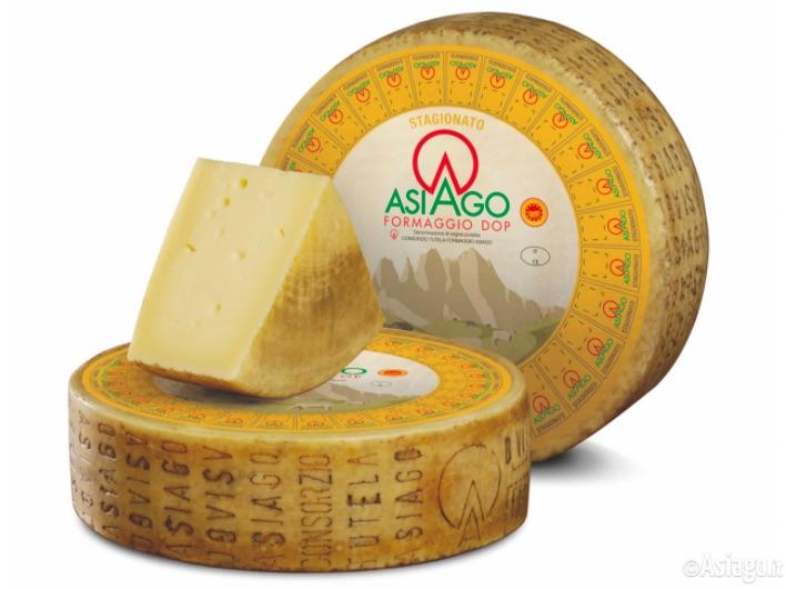 Asiago Stagionato (credits photo: Asiago.it )