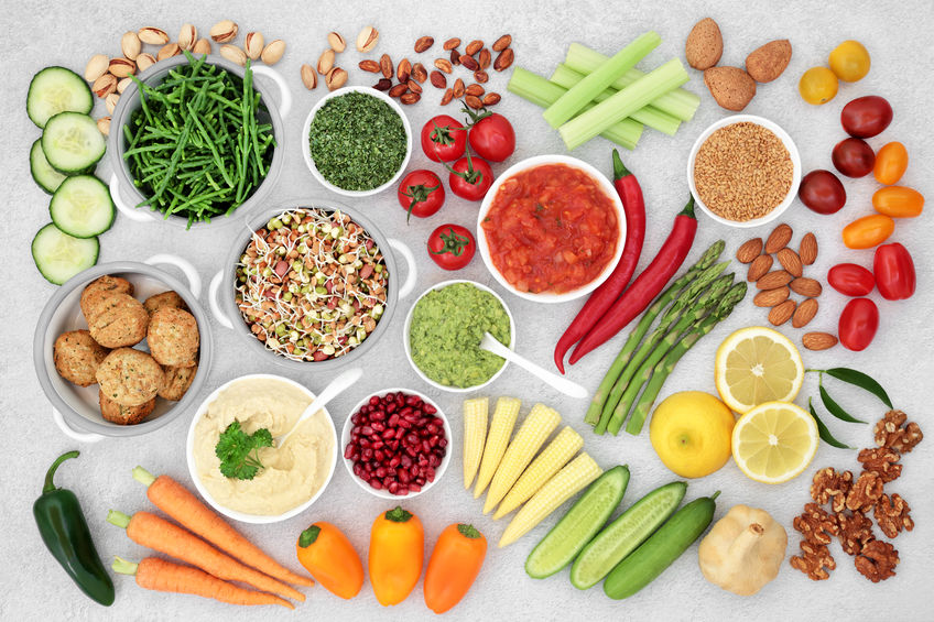 verdure e proteine