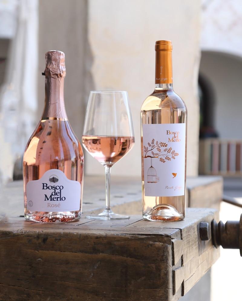 Rosé Spumante e Pinot Grigio