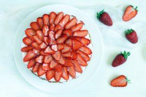 ricette con fragole torta