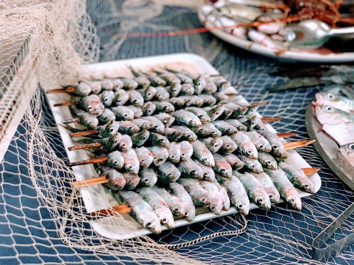 sardine di selinunte