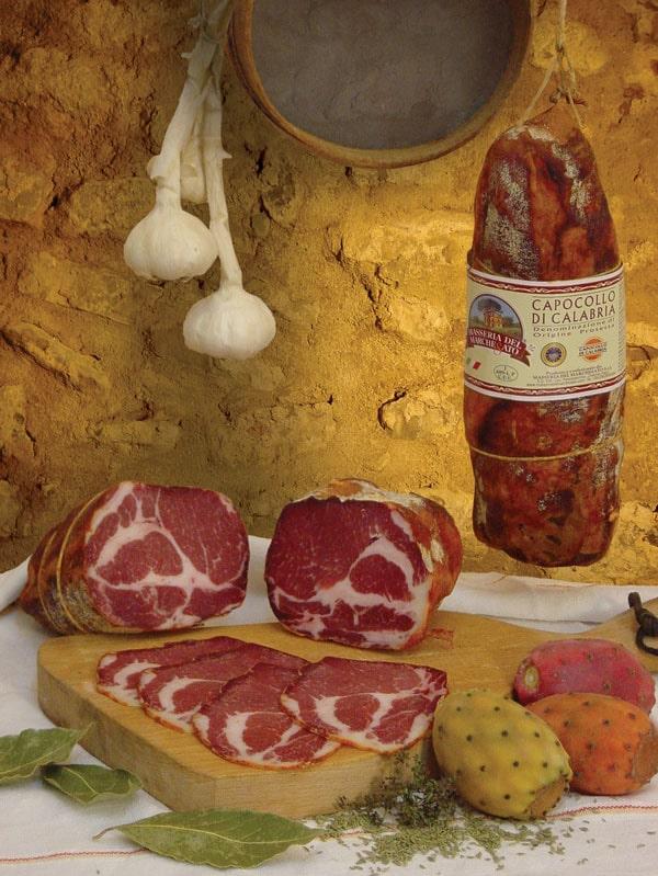 Capocollo di Calabria ricette